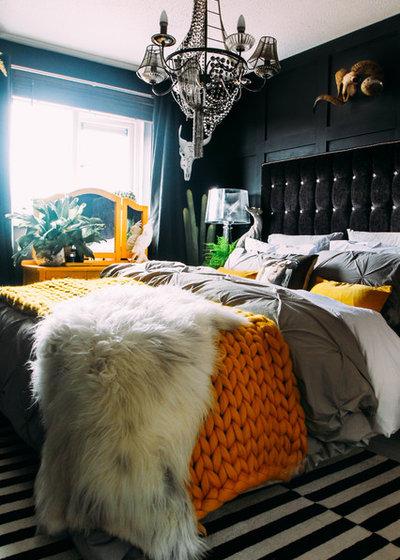 Eklektisk Soveværelse bedroom