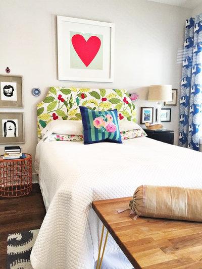 Eklektisk Sovrum Bedroom