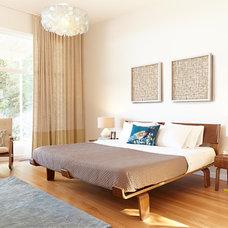 Contemporary Bedroom by Candland Studio