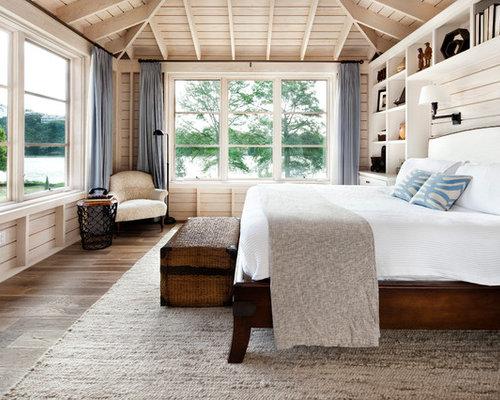 Elegant light wood floor bedroom photo in Austin. Ventilation Bedroom Ideas And Photos   Houzz