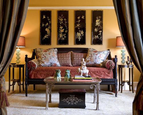Zen Bedroom Photo In San Francisco With Beige Walls