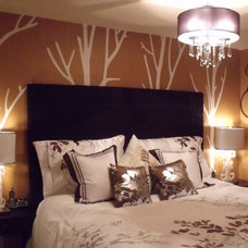 Contemporary Bedroom by Neecy Patton / Chic Creations