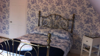 Bedroom in Jesmond  wallpaper by Laura Ashley