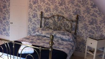 Bedroom in Jesmond  wallpaper by Laura Ashley