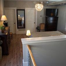 Industrial Bedroom Bedroom in Sandusky home