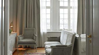 Bedroom in Stockholm