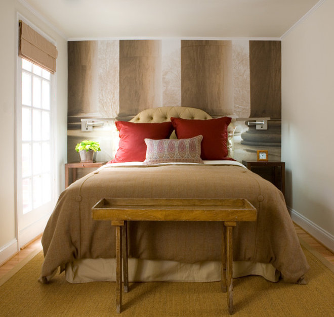 Contemporary Bedroom by InDesign / Lori Ludwick