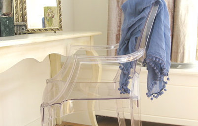 Take a Seat: Clear Choices for Lucite Chairs
