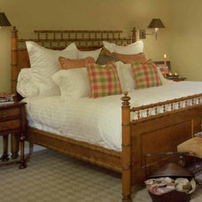Traditional Bedroom by Jan Gunn Interior Architecture and Design