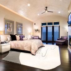 Contemporary Bedroom by JAUREGUI Architecture Interiors Construction