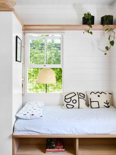 Modern Bedroom by JOHN ELLWAY. ARCHITECT