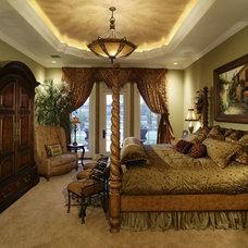 Mediterranean Bedroom by Kamenoff and Associates, Inc.