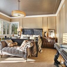 Traditional Bedroom by Kelli Ellis Interiors, Inc.