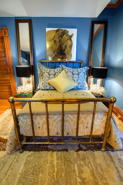 Eclectic Bedroom by Kevin Gray Interiors