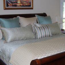 Eclectic Bedroom by Kirsten Nease Designs