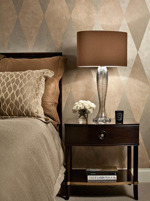 modern traditional bedroom  Elegant bedroom photo in PortlandModern Traditional Bedroom   Houzz. Modern Traditional Bedroom. Home Design Ideas