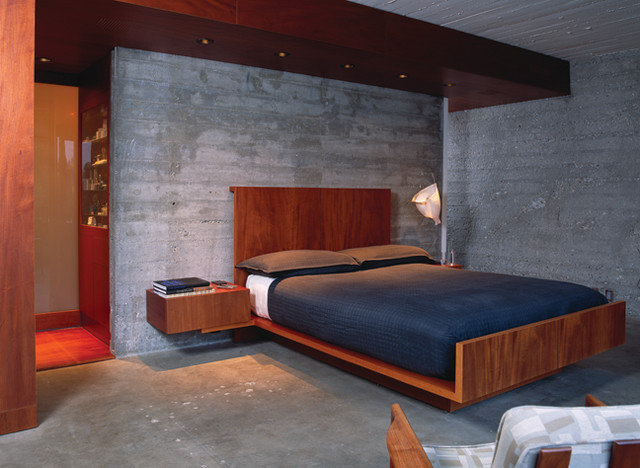 modern bedroom by lab liang architecture bureau inc