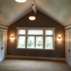 Craftsman Bedroom by Landmark Builders