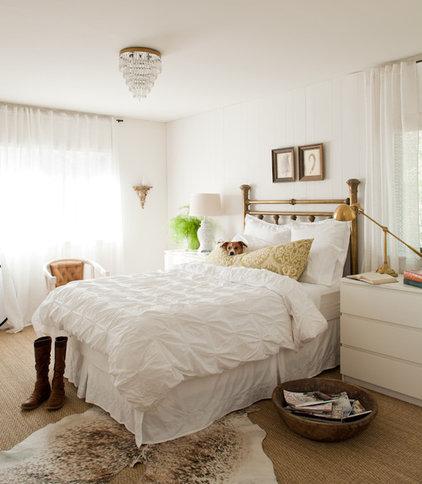 eclectic bedroom by Lauren Liess Interiors