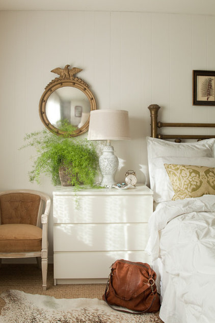 eclectic bedroom by Lauren Liess Interiors