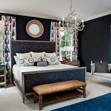 Transitional Bedroom by LGB Interiors