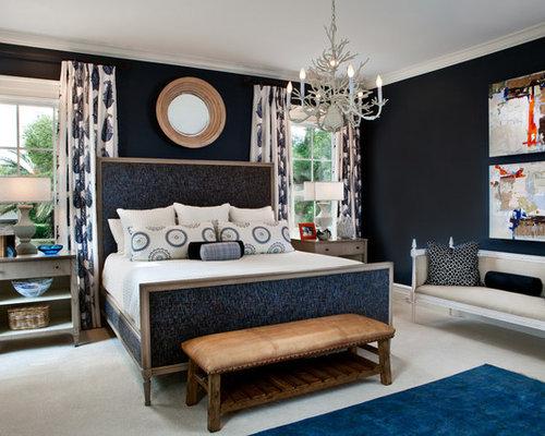SaveEmail. Best Navy Bedroom Design Ideas   Remodel Pictures   Houzz