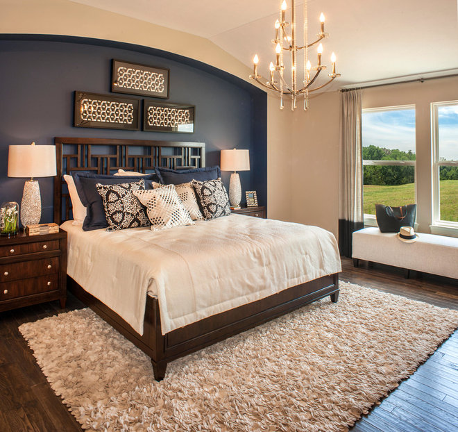 Transitional Bedroom by Progress Lighting