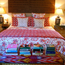 eclectic bedroom by Lisa Borgnes Giramonti