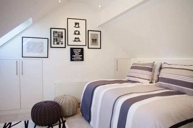 Contemporary Bedroom by LLI Design