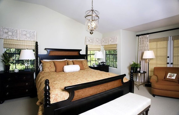 Traditional Bedroom by M. Roy Interior Design