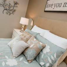 Contemporary Bedroom by Sunlight Staging & Home Decor