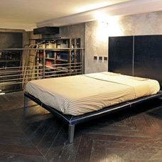 Industrial Bedroom by Marco Dellatorre