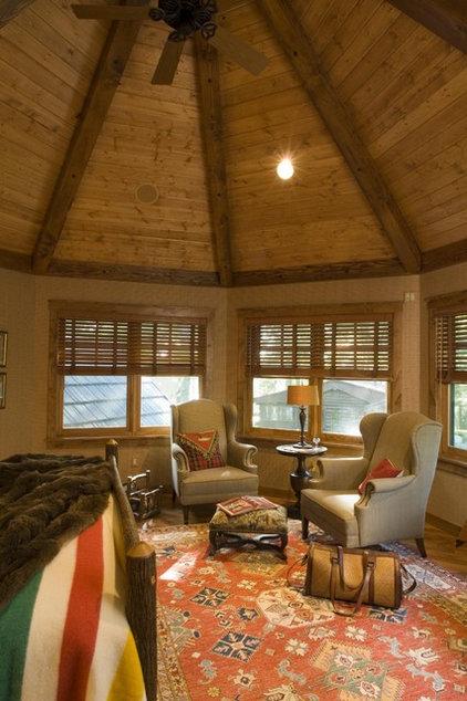 Rustic Bedroom by Marie Meko, Allied ASID