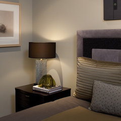 contemporary bedroom by Mark Newman Design