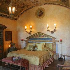 Mediterranean Bedroom by Merlin Contracting & Developing, llc
