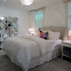 Eclectic Bedroom by Michael Goodsmith Design
