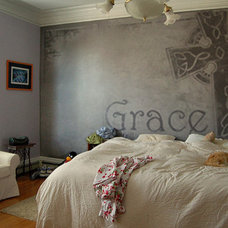Traditional Bedroom by Reitenour Paintings & Design