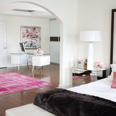 contemporary bedroom by Jodie Rosen Design