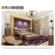 Contemporary Bedroom by Postmodern Design Studio