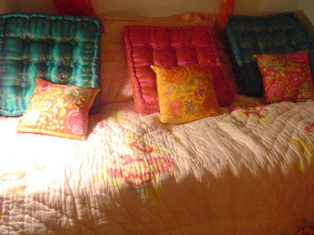Eclectic Bedroom by Tiffany Gholar, artist & interior designer