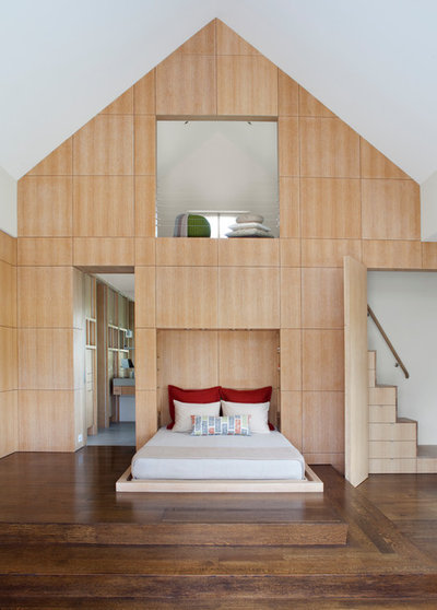 Contemporain Chambre by Remick Associates Architects + Master Builders
