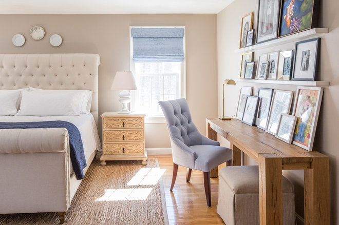 Farmhouse Bedroom by kelly mcguill home