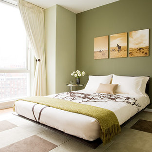 75 Beautiful Modern Green Bedroom Pictures Ideas Houzz