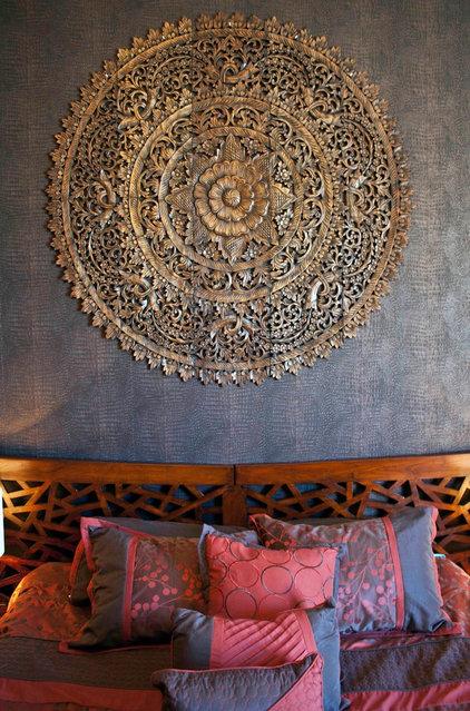 Asian Bedroom by Oriental Treasures