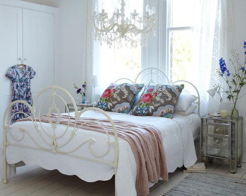 Camera da letto shabby-chic style Londra - Foto e Idee per Arredare