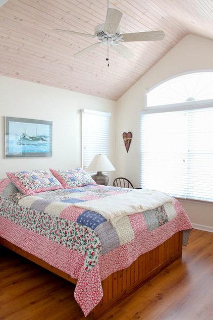 Beach Style Bedroom by Rikki Snyder