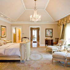 Traditional Bedroom by Roy Campana Photography