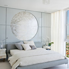 modern bedroom by Roy Campana Photography