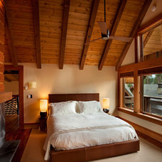 Contemporary Bedroom by Ryan Group Architects