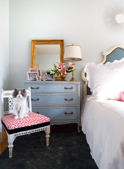 Shabby-chic Style Bedroom by Sara Tuttle Interiors